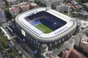 Un stade de football Microsoft